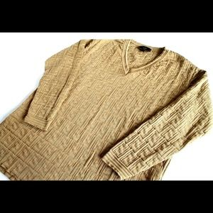 76a6ce06dfb7fb Fendi Sweaters | Ff Monogram Zucca Knit Sweater Us 10 | Poshmark